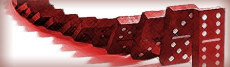 domino fall