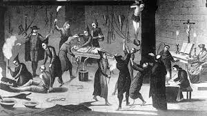 """The Spanish Inquisition does its """"Holy"""" duty"""